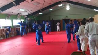 BAHAMAS Judo CARIFTA team practice