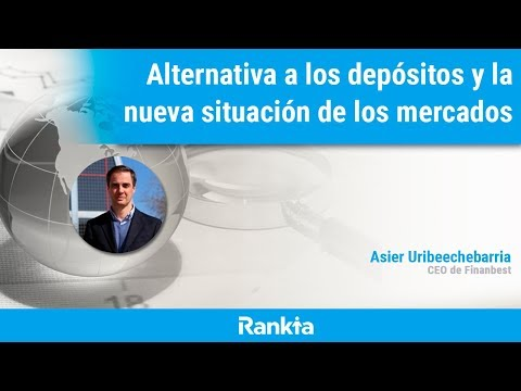 El pasado martes 24 de marzo tuvimos una jornada online sobre Alternativa a los depósitos y la nueva situación de los mercados, con Asier Uribeechebarria, CEO de Finanbest