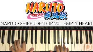 Naruto Shippuden OP 20 - Empty Heart - Anly (Piano Cover) | Patreon Dedication #96
