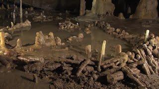 175.000 jaar oude bouwsel in een grot gevonden