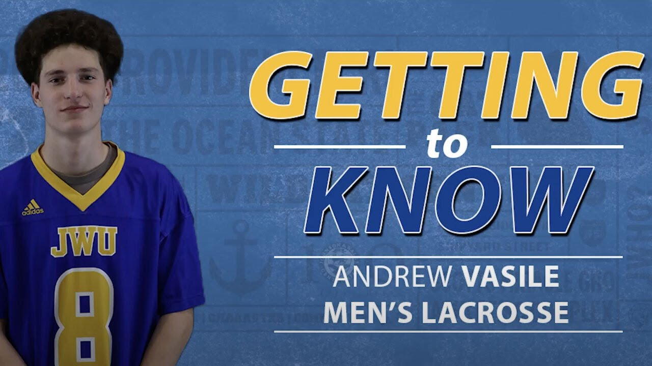 JWU Athlete: Andrew Vasile '24 thumbnail