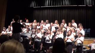 CHILD OF THE WORLD - Randall Carter 5th Grade Chorus (Jacobson & Higgins)