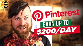How To Make Money On Pinterest In 2020   $200 Per Day With NO INVESTMENT