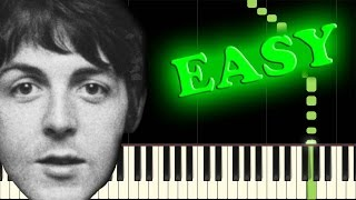 THE BEATLES - LUCY IN THE SKY WITH DIAMONDS - Easy Piano Tutorial