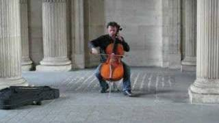 Cellist at the Louvre
