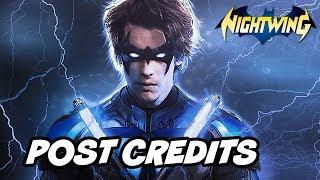 Titans Nightwing Scene - Batman and Post Credit Scene Breakdown