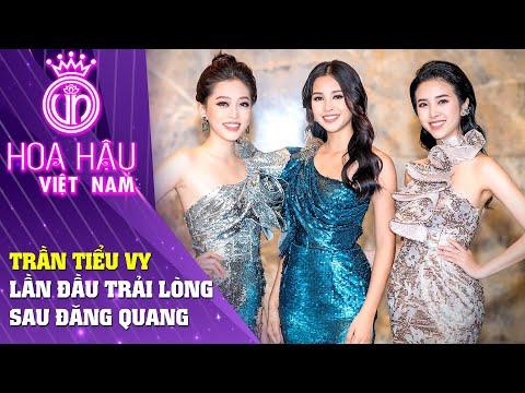 Hoa Hậu Việt Nam   Trần Tiểu Vy lần đầu trải lòng cùng Á hậu Phương Nga và Thúy An sau đăng quang