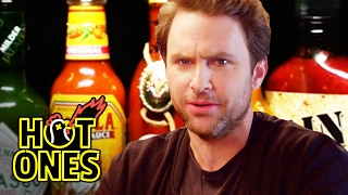 Charlie Day Learns to Love Ridiculously Spicy Wings | Hot Ones width=