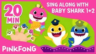 Baby Shark Season 1&2 !   Sing Along with Baby Shark   Compilation   Pinkfong Songs for Children