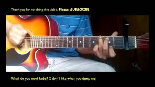 Joji Test drive Guitar chords