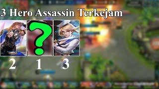 3 Hero Assassin Terkejam Mobile Legends | Siapa Ya Yang Paling Kejam?