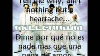 I want it that way (Inglés-español) - Backstreetboys