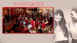 Glee - A Hard Day's Night [Sub Esp + Vídeo]