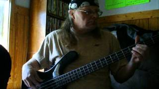 Heart (Magic Man) Bass Cover