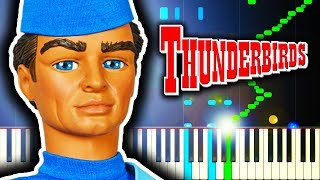 THUNDERBIRDS THEME - Piano Tutorial