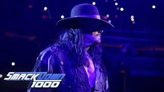 The Undertaker has a message for DX: SmackDown 1000, Oct. 16, 2018