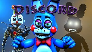 """[SFM] [FNaF] """"Discord"""" by Eurobeat Brony (Remix by The Living Tombstone)"""