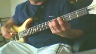 """How to play bass guitar"" ""Vasoline"" by ""Stone Temple Pilots"" on ""Bass Guitar"""