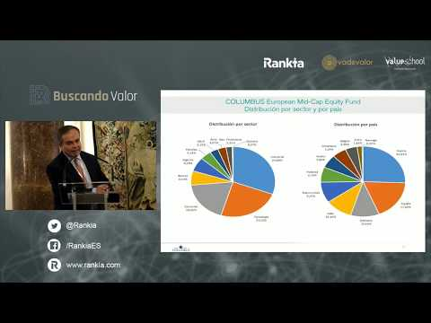 Conferencia de Pedro Yagüez, Columbus Investment, en el evento Buscando Valor 2019 en Madrid