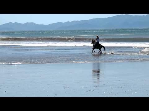 Christina's Beach Run on Horseback with Rancho Chilamate in Nicaragua