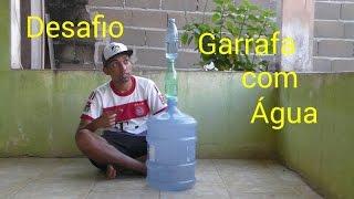 Desafio da Garrafa com agua ( water bottle challenge)