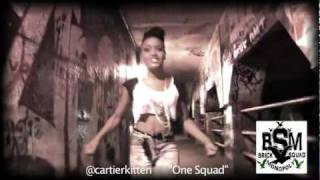 """Waka Flocka presents Cartier Kitten """"One Squad"""" Official Video"""