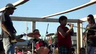 Tristan singing on Canada Day