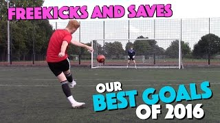 Our BEST Freekicks and Saves from 2016! | #PAPFK