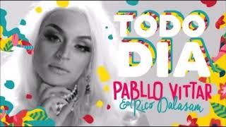 Pabllo Vittar  Todo Dia feat  Rico Dalasam Audio Oficial