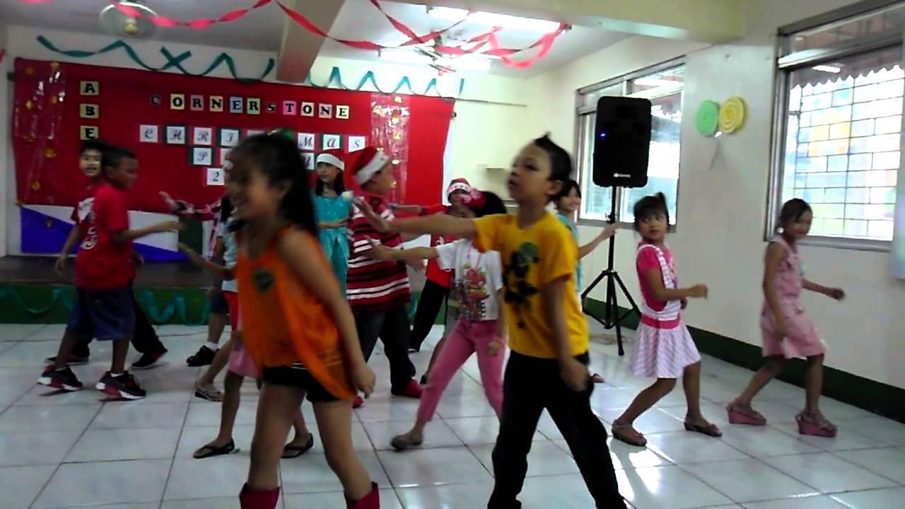 ABES Cornerstone Kids Presentation CHRISTmas Party 2014