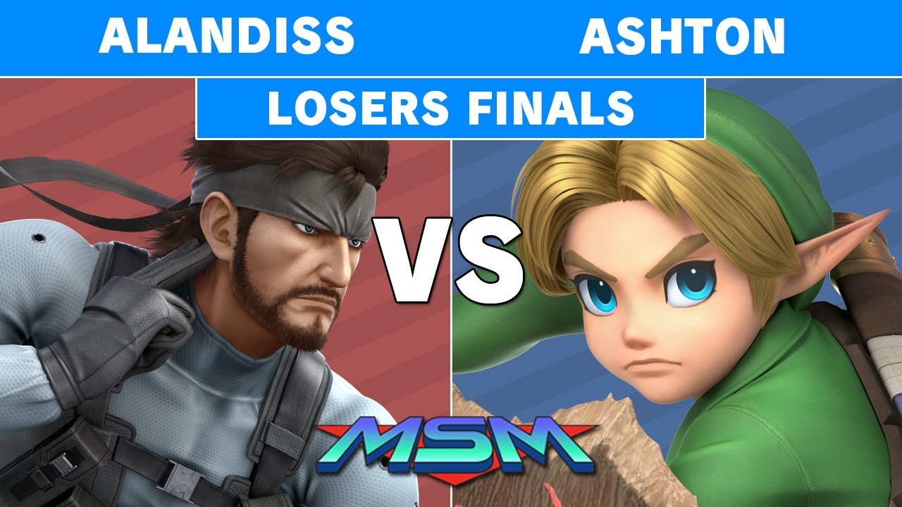 2GGaming - MSM Online 29 - Ashton (Young Link) Vs. AlanDiss (Snake) Losers Finals - Smash Ultimate