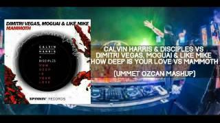 How Deep Is Your Love vs Mammoth (Ummet Ozcan Mashup)[Mike Luke Remake]