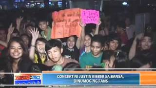News To Go -  Bielibers flock to MOA for Justin Bieber Concert- 051111