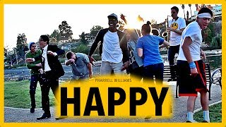 Pharrell - HAPPY - Saxophone Cover Music Video - BriansThing