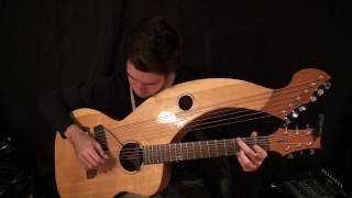 Wish You Were Here - Pink Floyd - Harp Guitar Cover - Jamie Dupuis
