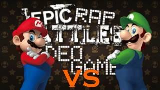 Mario Vs Luigi- Epic Rap Battles of Gaming History