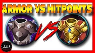 BLADE ARMOR VS BLOODTHIRSTY KING - ARMOR VS HP TEST - WHICH DO YOU CHOOSE?