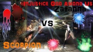 Injustice God Among Us Zatanna Vs Scorpion