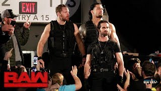 The Shield hace su entrada especial en Monday Night Raw