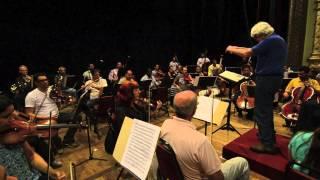 Orquestra Sinfônica do Recife - Ensaio - Mozart Piano Concerto No.23, K. 488 - Regência Marlos Nobre