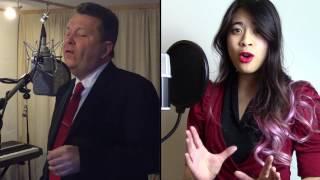 Something Stupid - Nancy & Frank Sinatra (Cover by uwewilly) sung by Adelynn Delarosa & uwewilly
