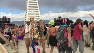 "Sabo & Goldcap playing ""Syria"" by Unders @ The Kazbah - Burning Man 2016"