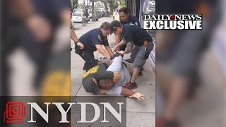 Original Eric Garner fatal arrest video