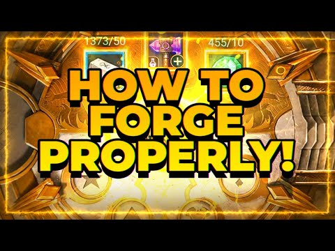 How to Forge Craft PROPERLY! | RAID Shadow Legends