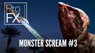 Monster scream sound effect (3) | ProFX (Sound, Sound Effects, Free Sound Effects)