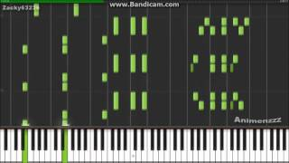 Attack on Titan - Shingeki no Kyojin OST - Synthesia (Piano) (Animenzzz)