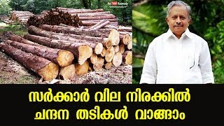 Sandalwood can be bought in government rates | K Raju
