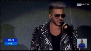 Thousands of people attended Queen with Adam Lambert Rock in Rio Lisboa festival