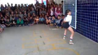 O dia do show de talentos na escola