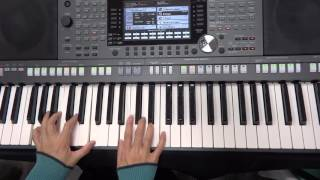 曉明長青大學電子琴班上課錄影(20151216):Quien Sera 給恩 謝拉